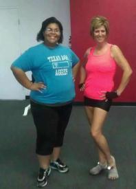 317 lbs- Miss Tonita my biggest cheerleader