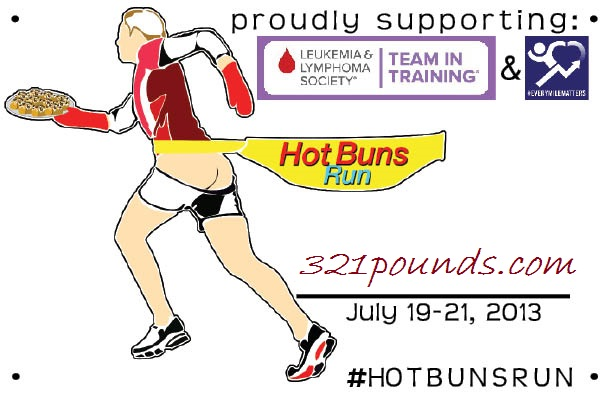 Hot Buns Run Bib
