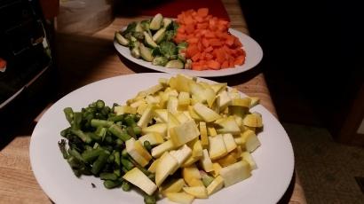 Batched veggies